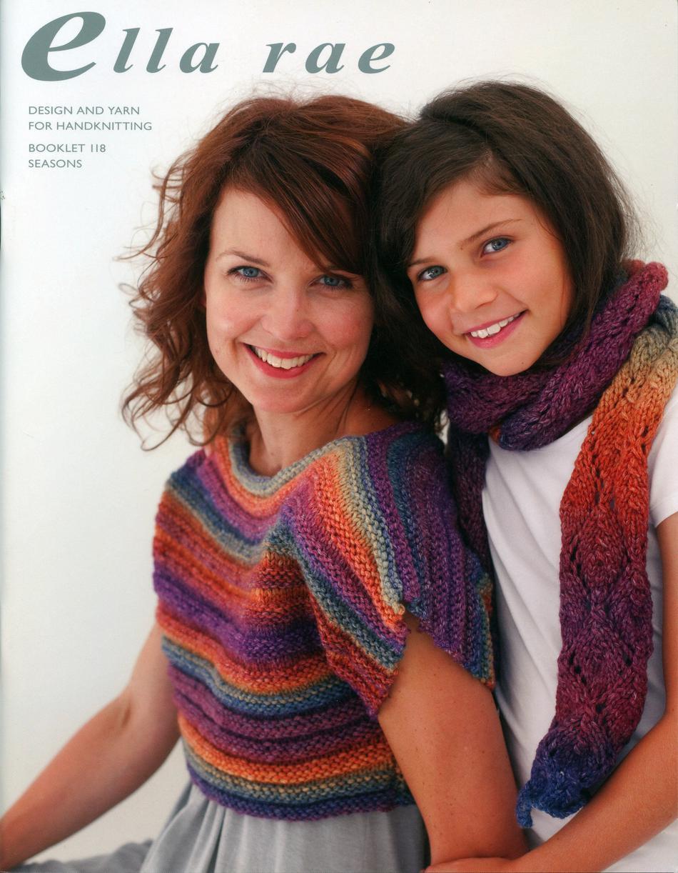 CLEARANCE Ella Rae Book - Seasons, Knitting Book - Halcyon ...