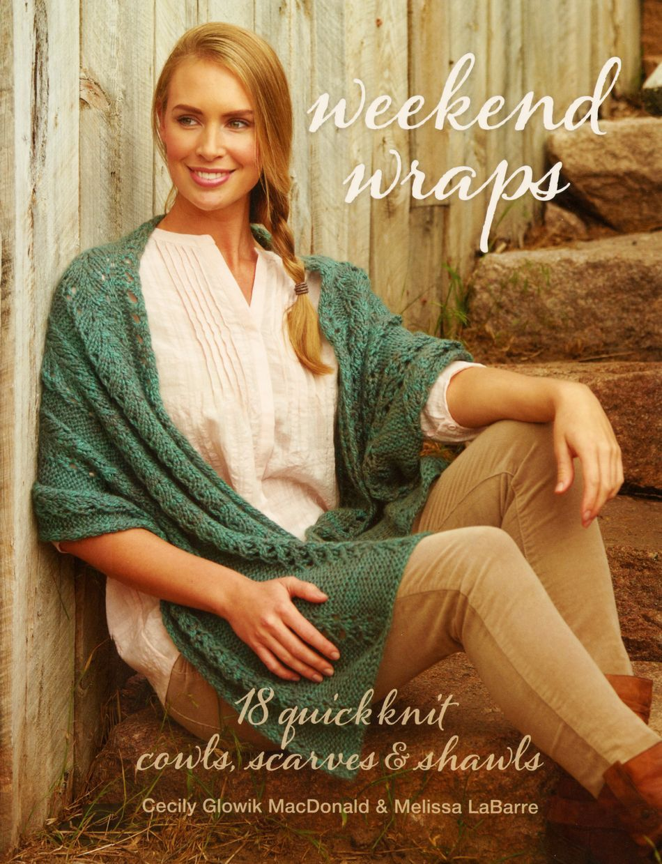 Knitting Books Weekend Wraps