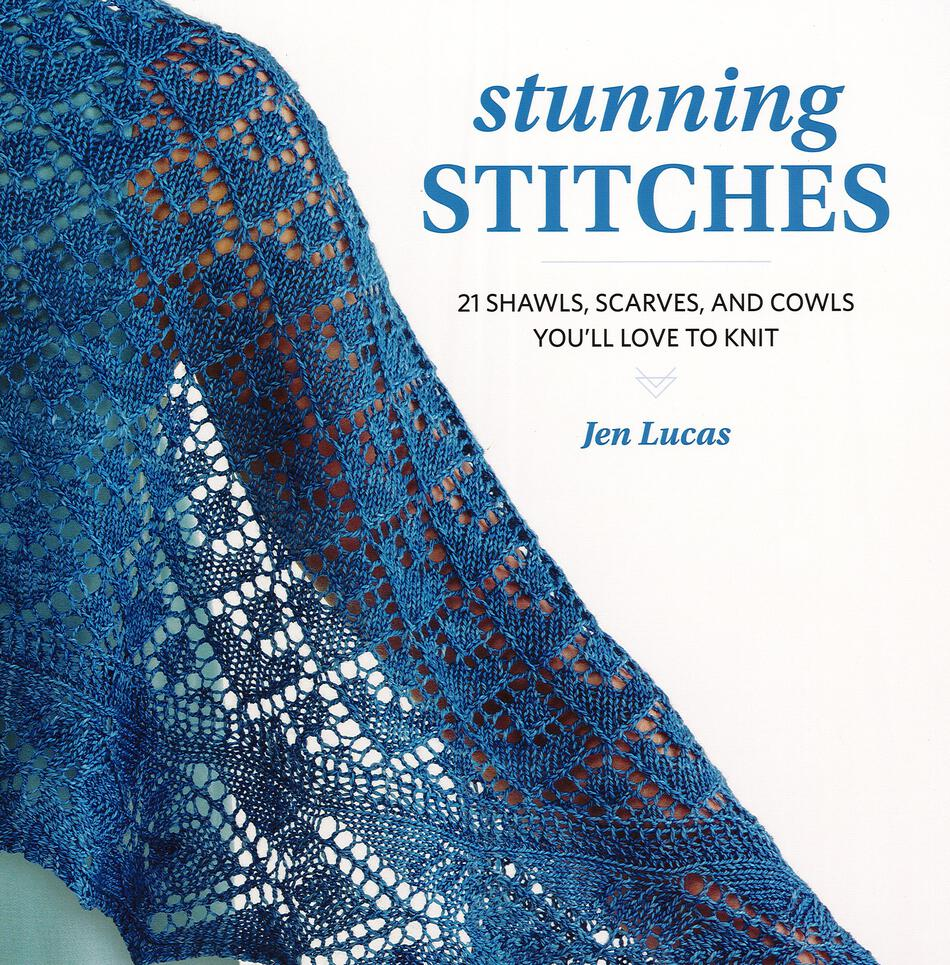 Knitting Stitches Book : Stunning Stitches, Knitting Book - Halcyon Yarn