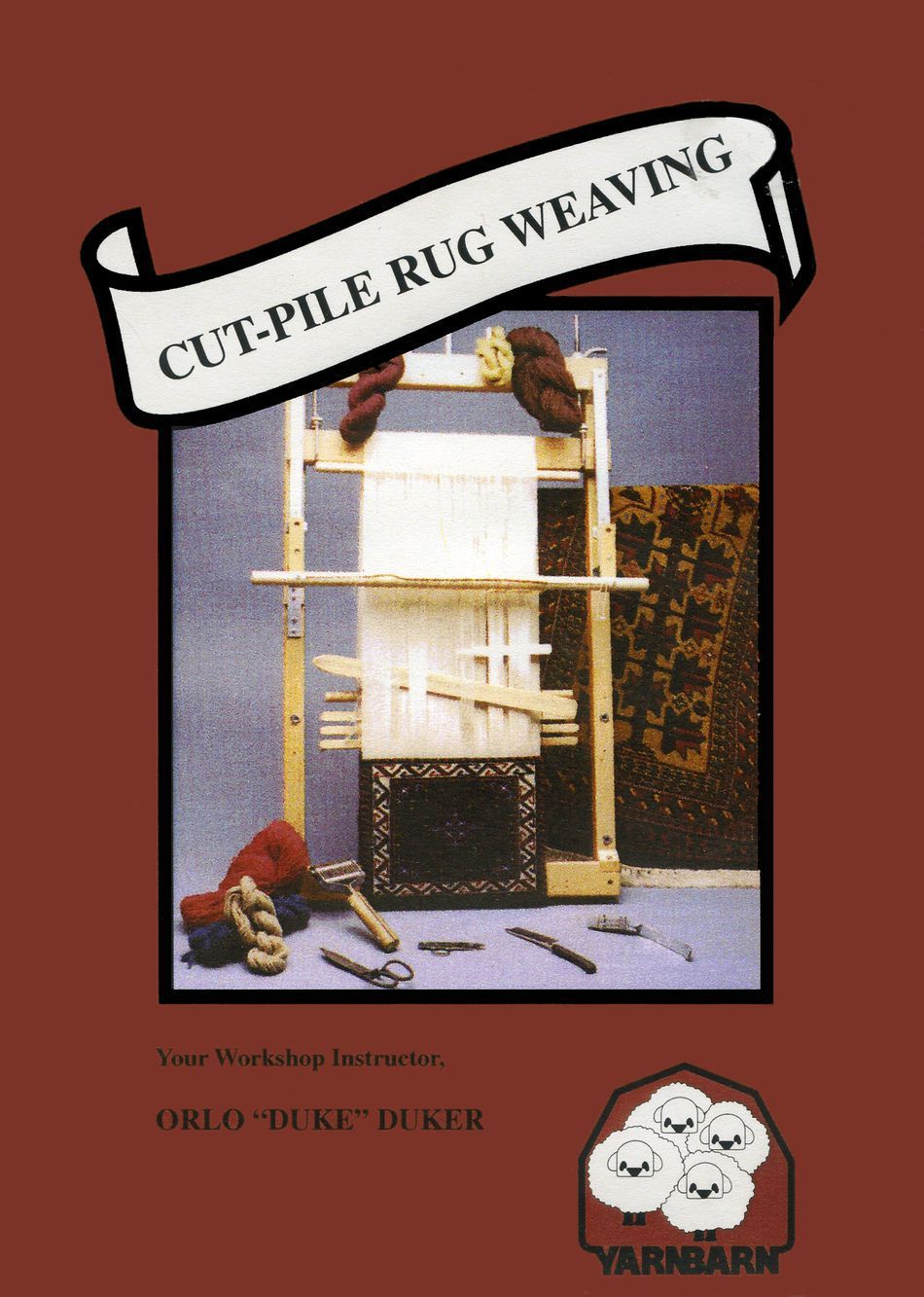 Weaving CDDVD DVD CutPile Rug Weaving