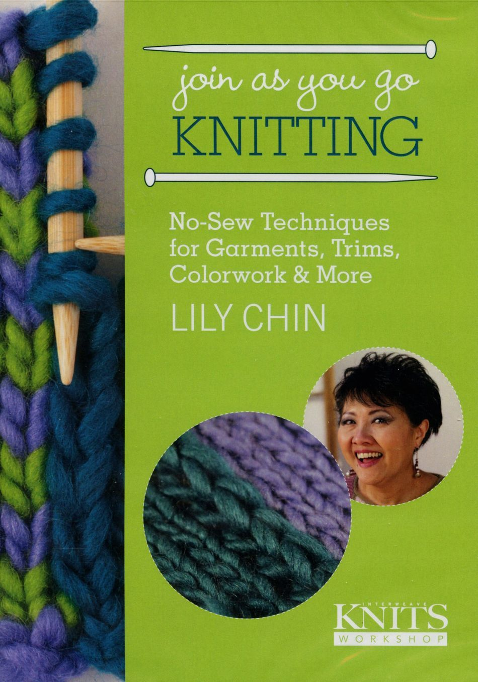 Knitting CDDVD DVD Join As You Go Knitting