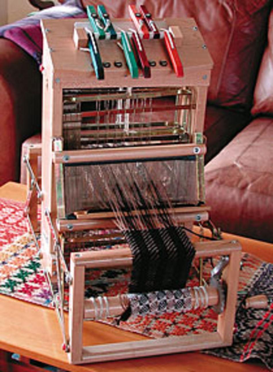 Leclerc Voyageur 24 Quot Table Loom 8 Shaft Weaving Equipment