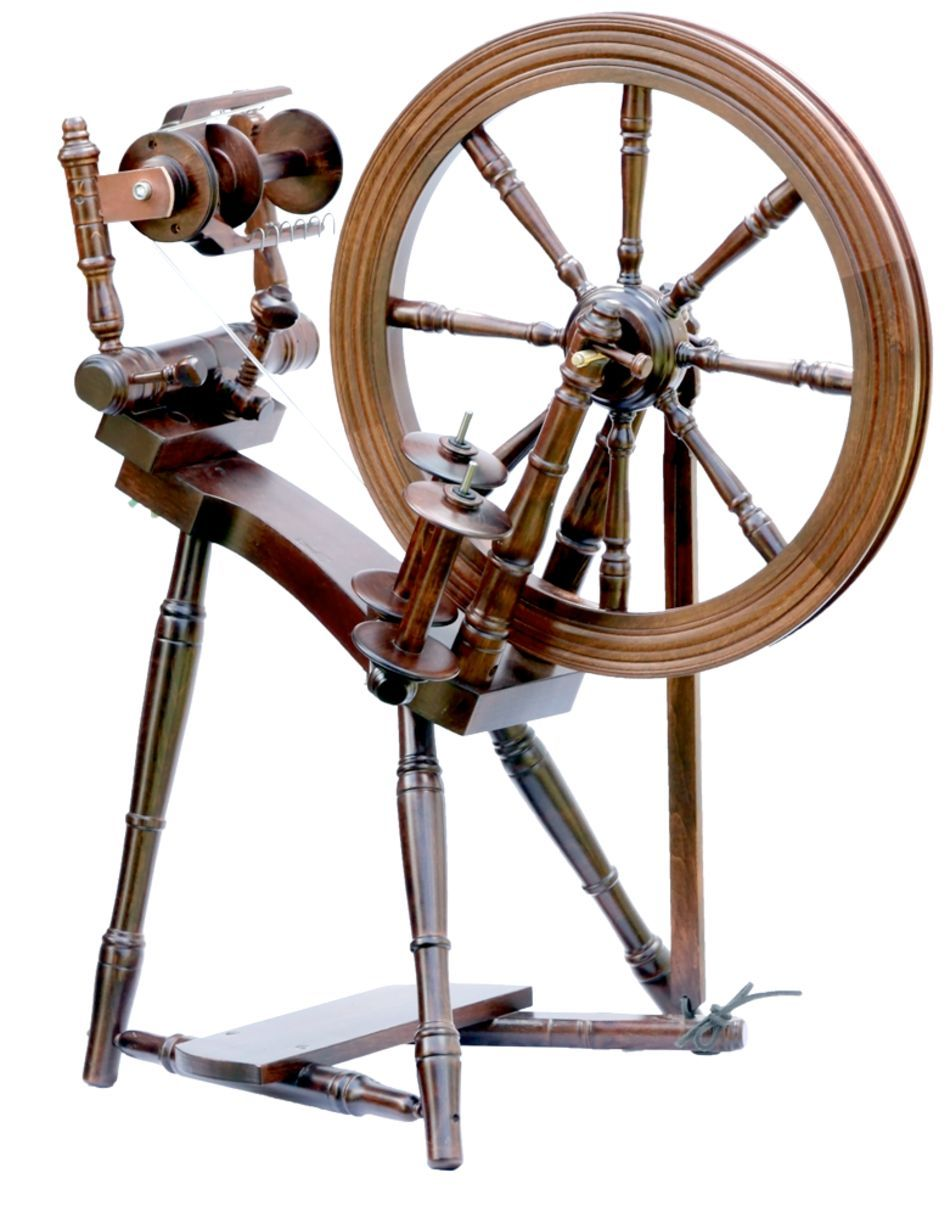 Spinning Equipment Kromski Prelude Spinning Wheel Walnut