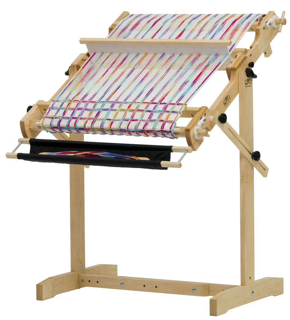 schacht 25 flip folding rigid heddle loom weaving equipment