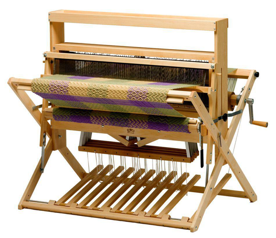 Weaving Equipment Schacht 36quot Mighty Wolf Loom  4Now 4Later maple wHeight Extender