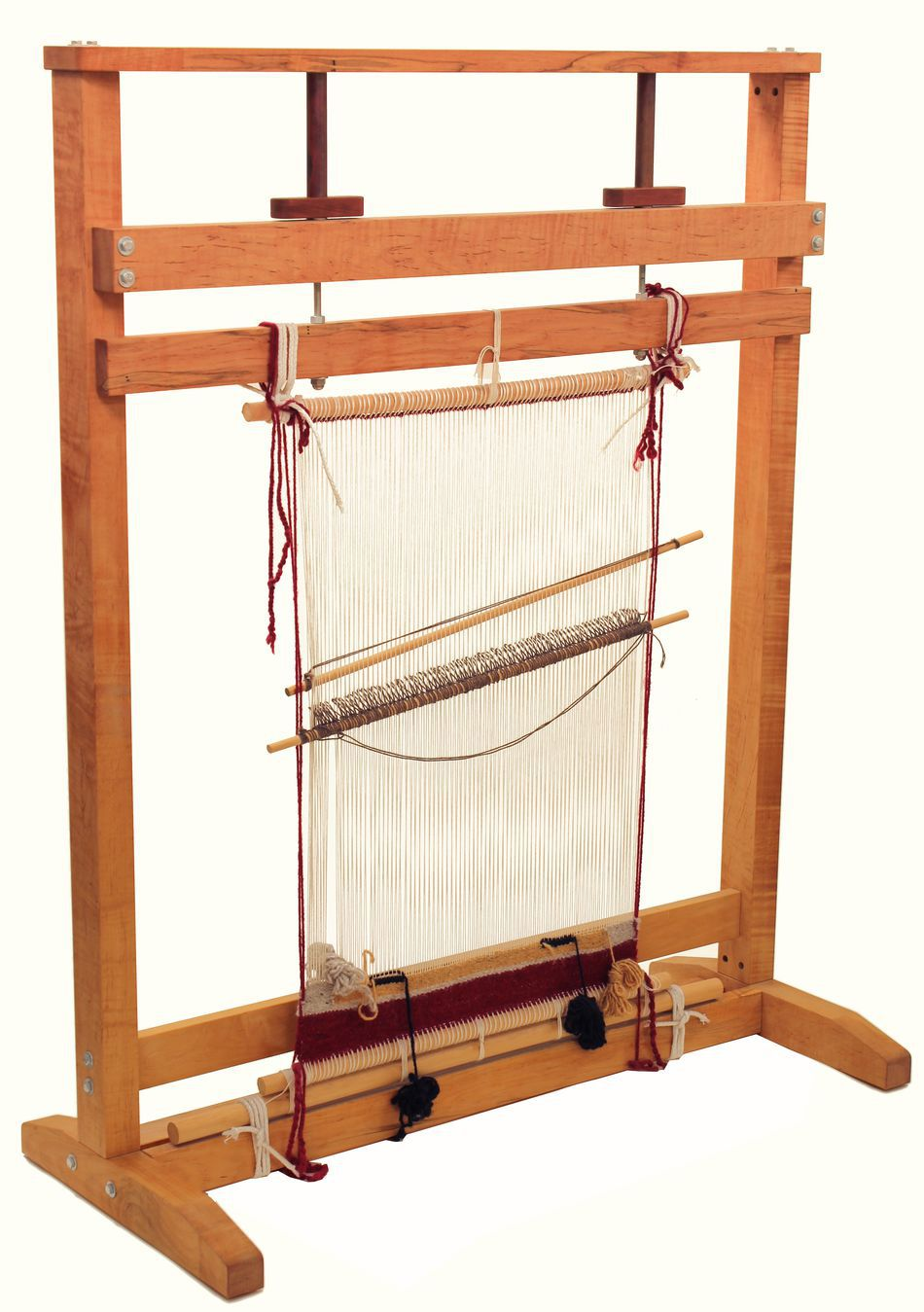 navajo style 60 loom by dovetail weaving equipment halcyon yarn