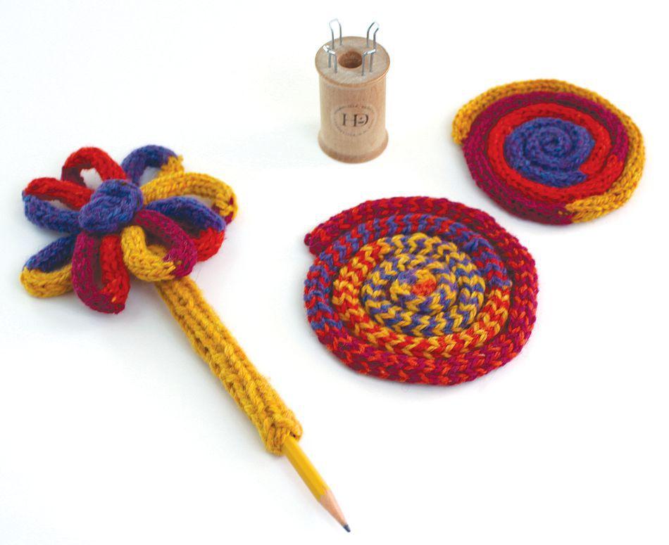 Harrisville Traditional Spool Knitting Kit Multi Craft Kit