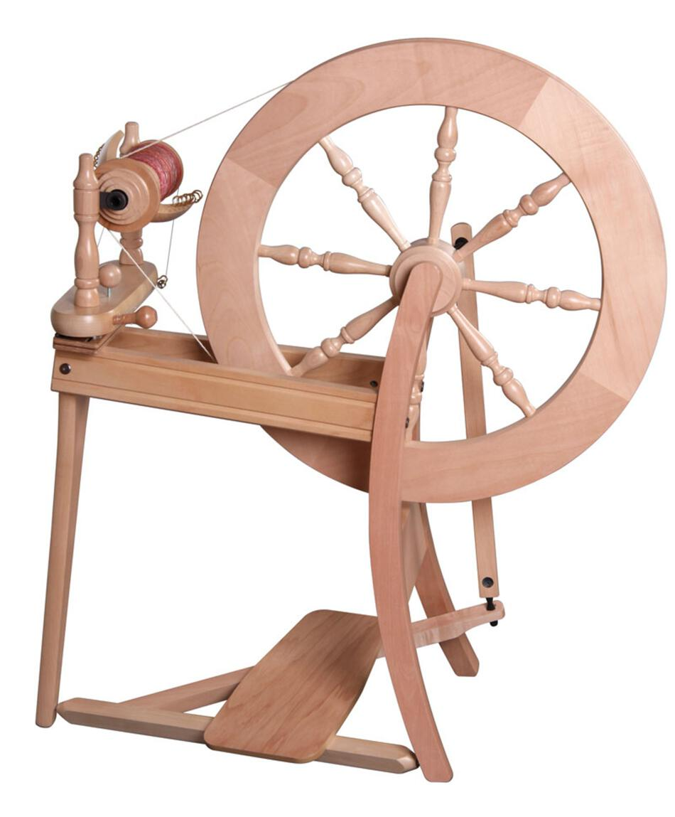 Spinning Equipment Ashford Traditional Spinning Wheel SingleDrive Clear Lacquer