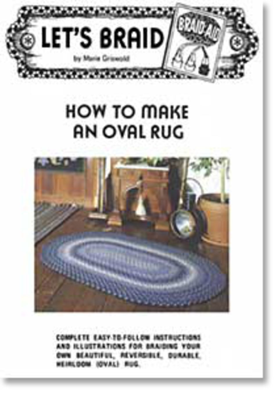 Rug Making Books How to Make a Braided Oval Rug