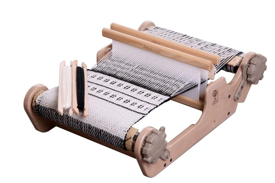 Weaving Equipment Ashford SampleIt 10quot Rigid Heddle Loom wbuilt in second heddle option