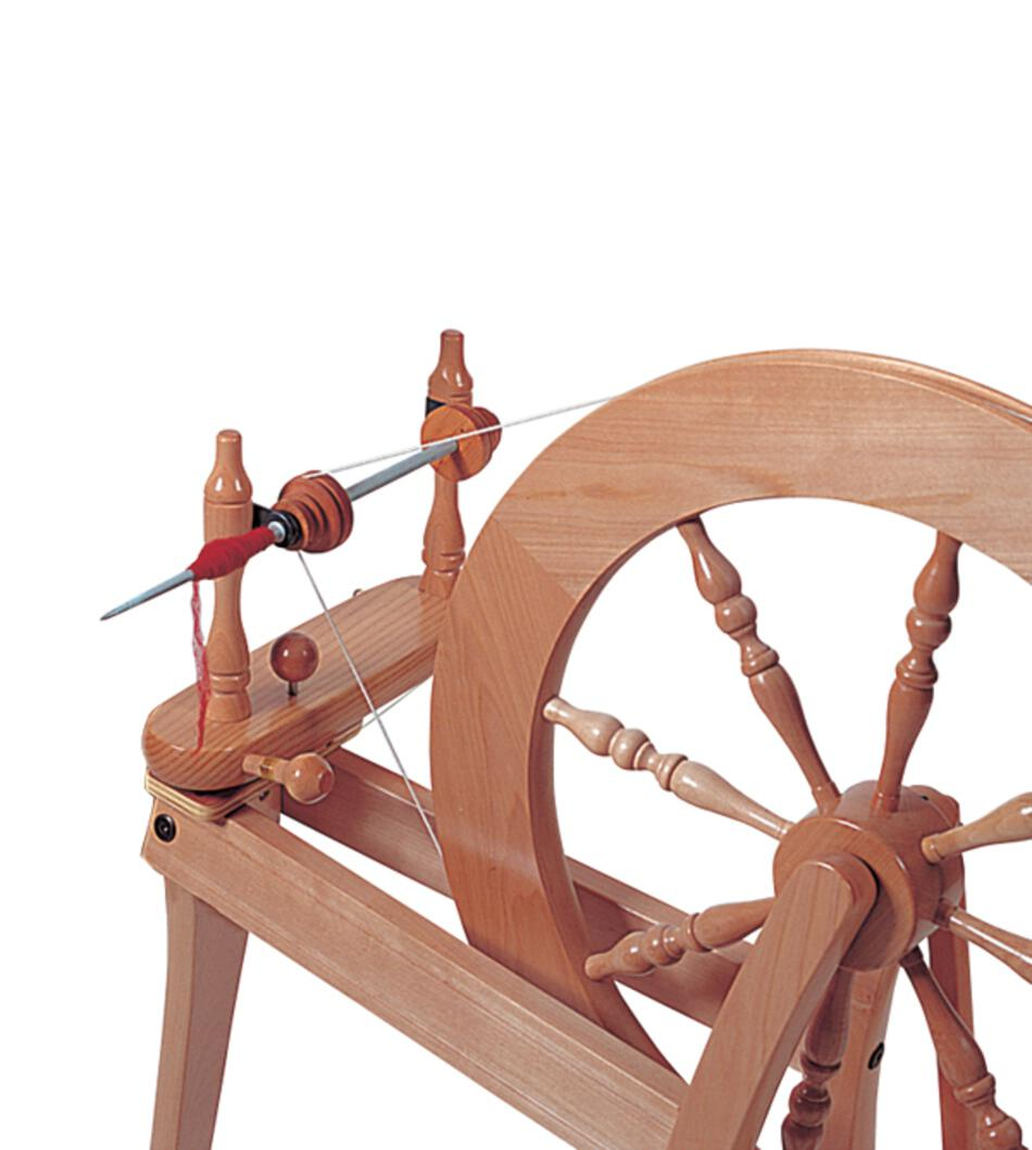 Ashford Traveller Spinning Wheel - Single Drive - Unfinished