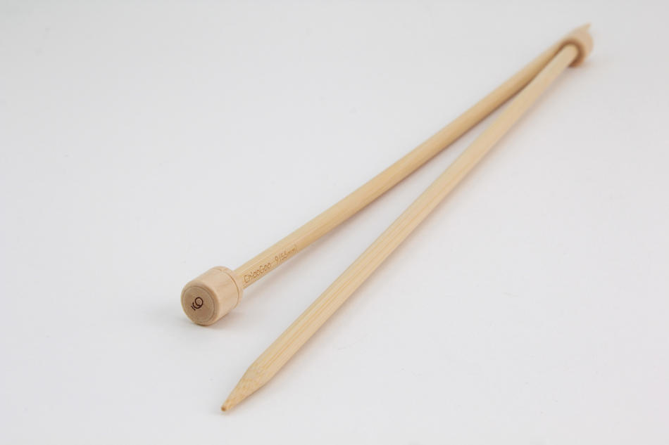 Knitting Equipment Bamboo 12quot Singlepoint Knitting Needles Size 9