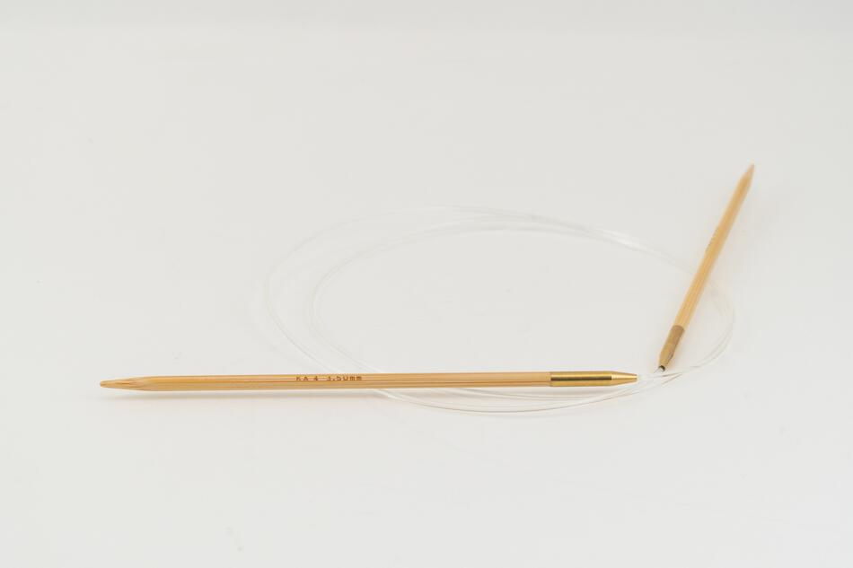 Knitting Equipment 36quot Circular Bamboo Knitting Needles Size 4 Shirotake by KA Seeknit