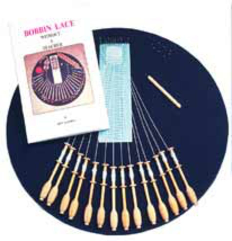 Bobbin Lace and Tatting Equipment 16quot Bobbin Lace Pillow