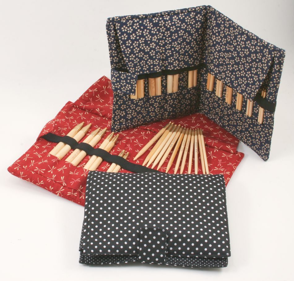 Ka Bamboo Interchangeable Circular Knitting Needle Set Knitting