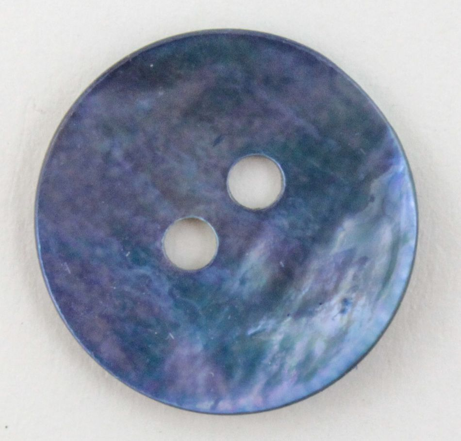MultiCraft Equipment Blue Pearl Button 34quot
