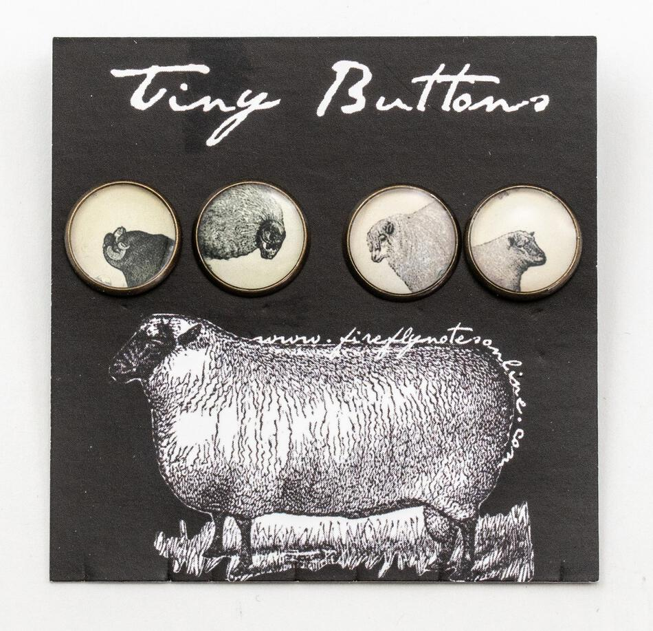 MultiCraft Equipment Tiny Resin Sheep Buttons