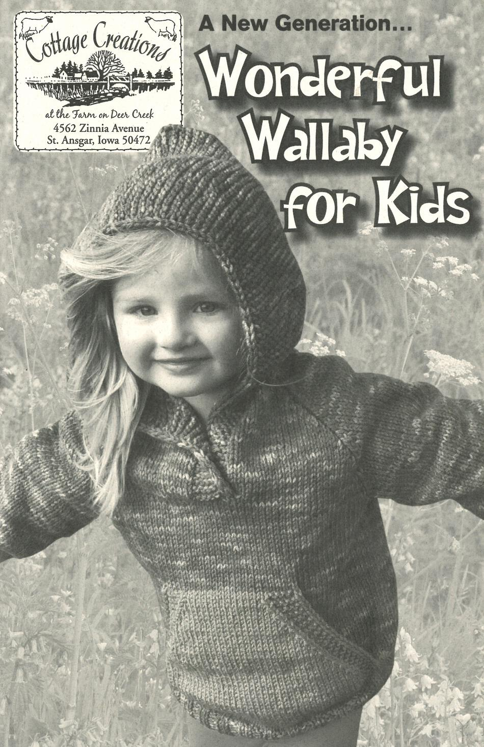 Knitting Books A New Generation Wonderful Wallaby for Kids