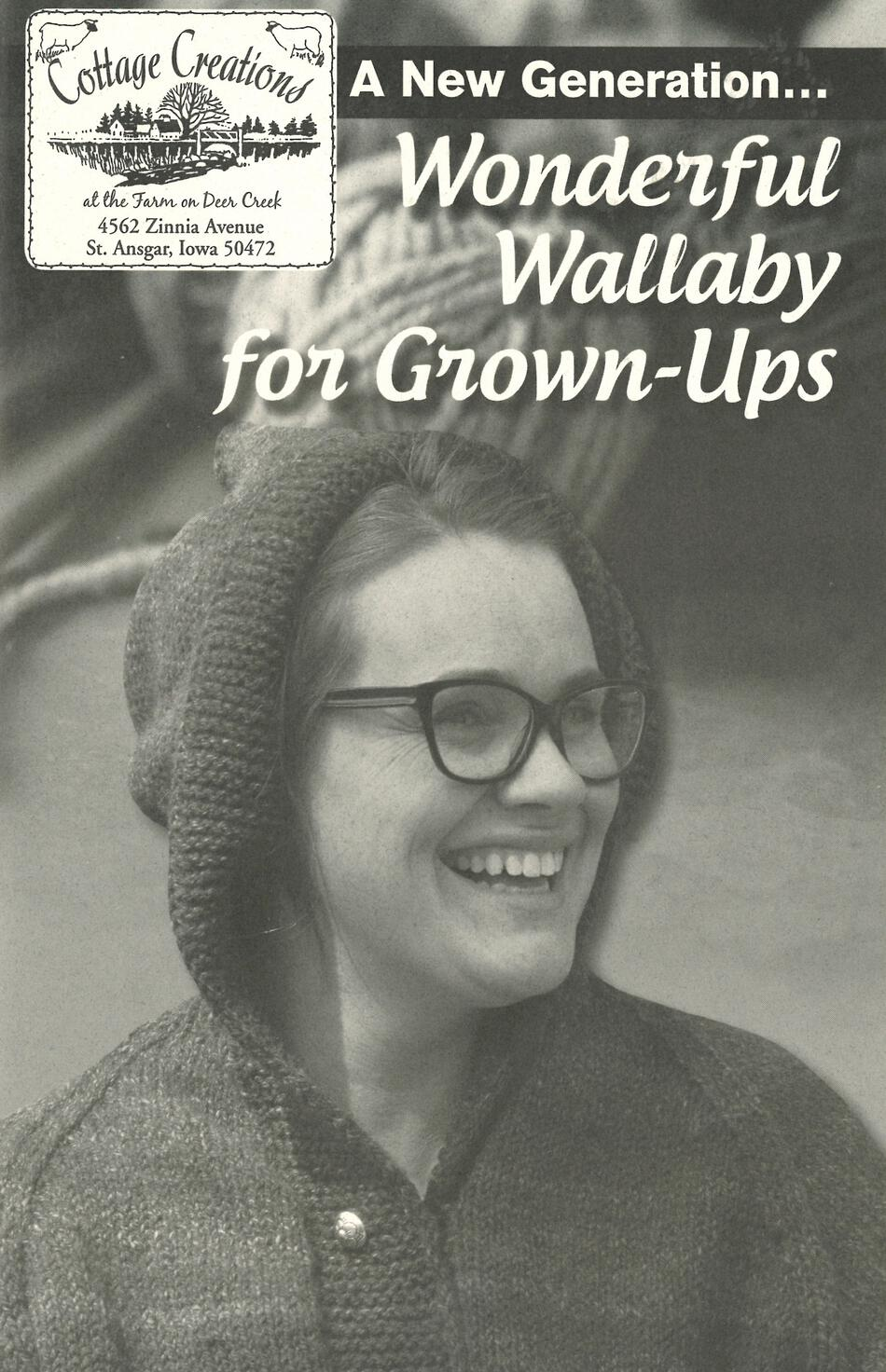 Knitting Books A New Generation Wonderful Wallaby for GrownUps