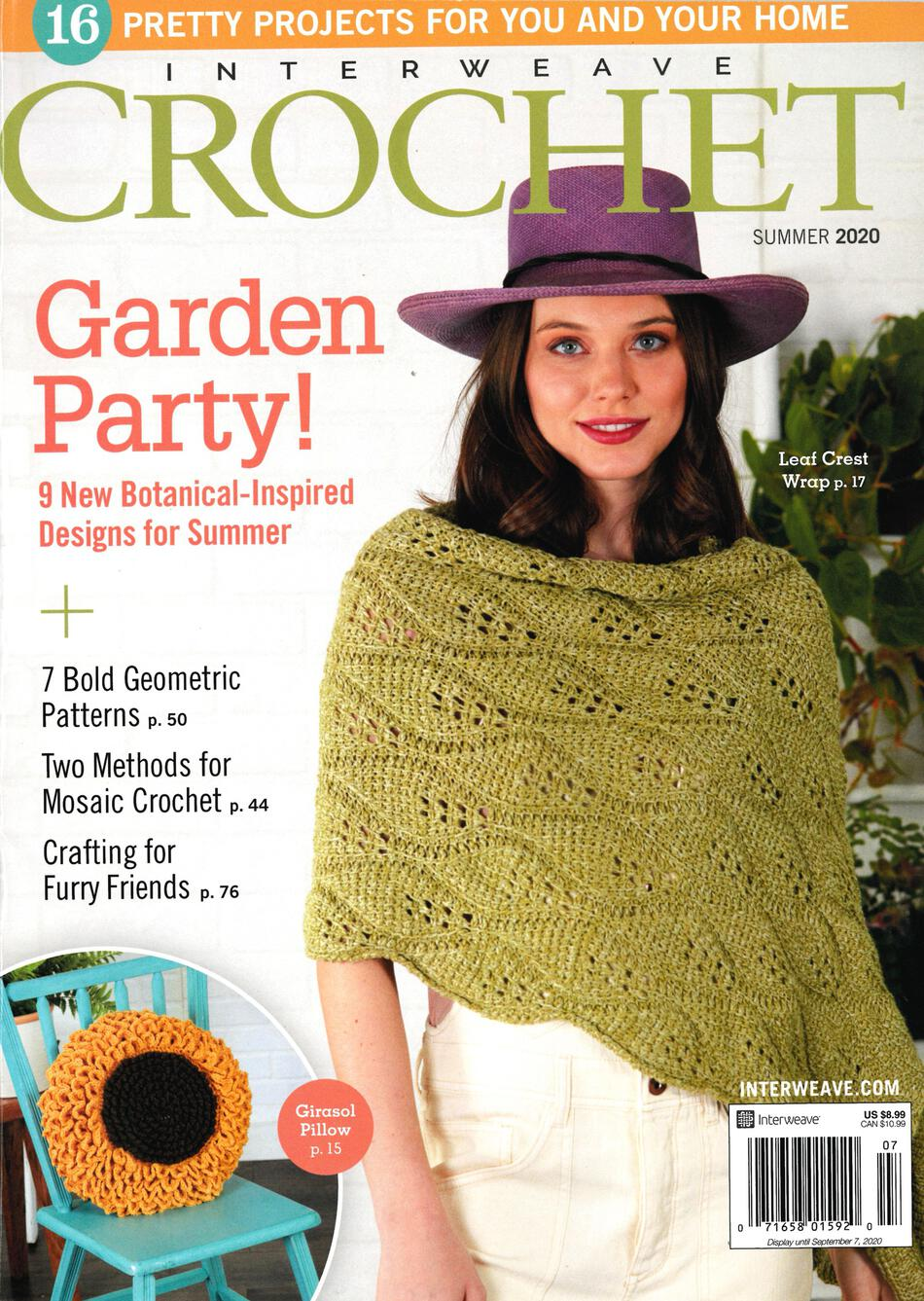 Crochet Magazines Interweave Crochet Summer 2020