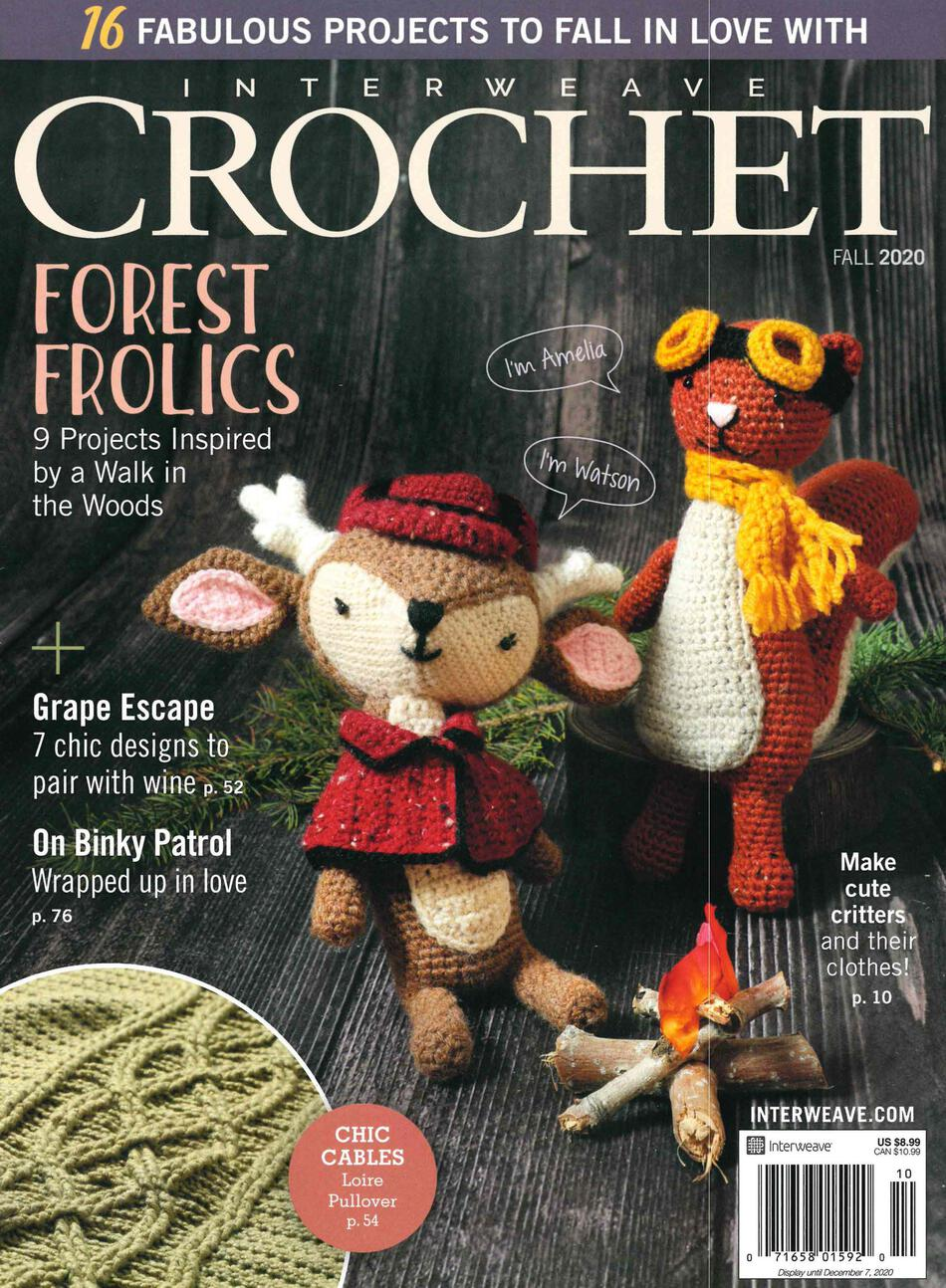 Crochet Magazines Interweave Crochet Fall 2020