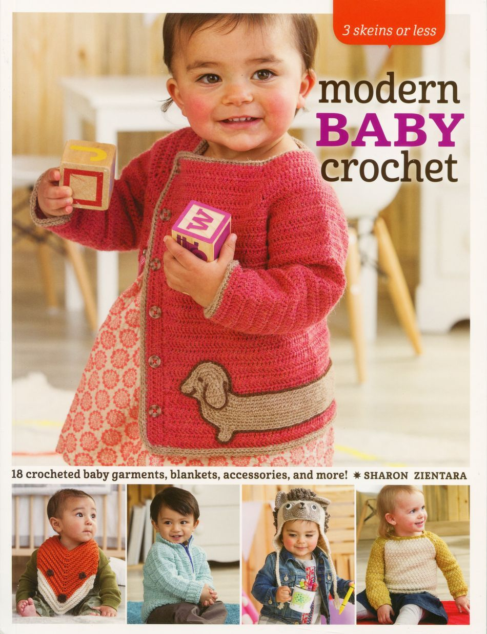 Crochet Books 3 Skeins or Less Modern Baby Crochet