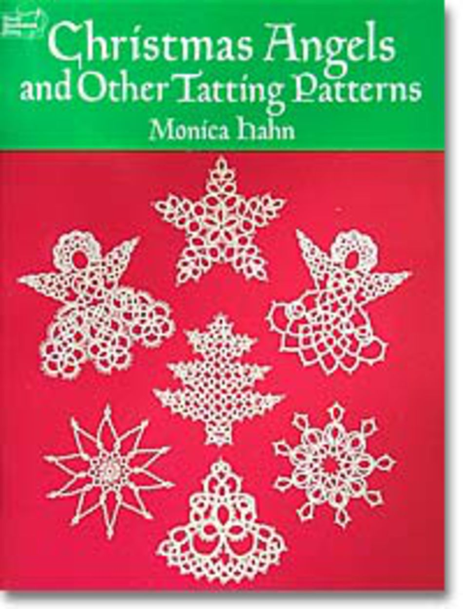 Bobbin Lace and Tatting Books Christmas Angels and Other Tatting Patterns