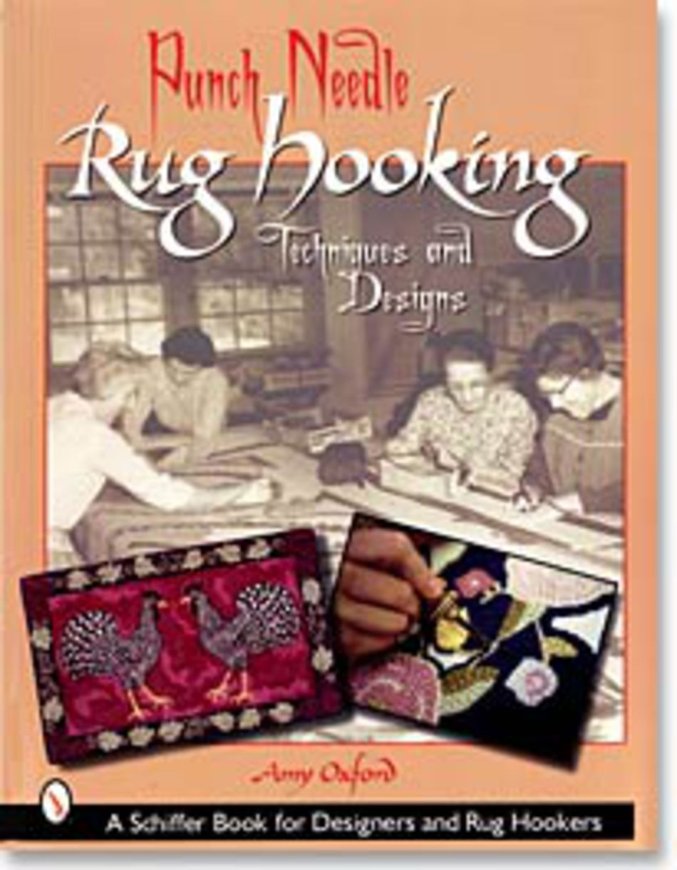 Rug Making Books Punch Needle Rug Hooking