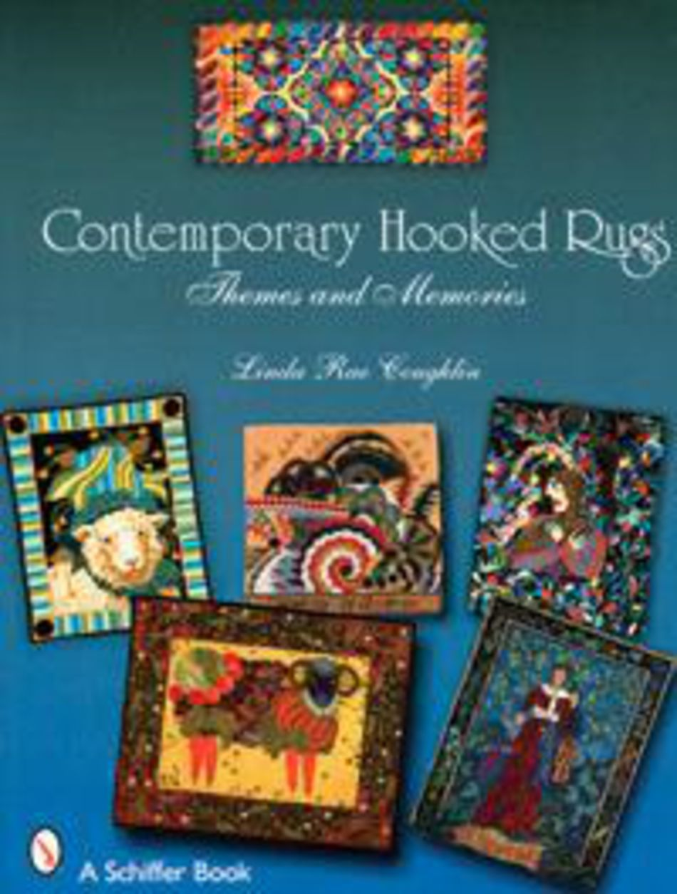 Contemporary Hooked Rugs Rug Making Book