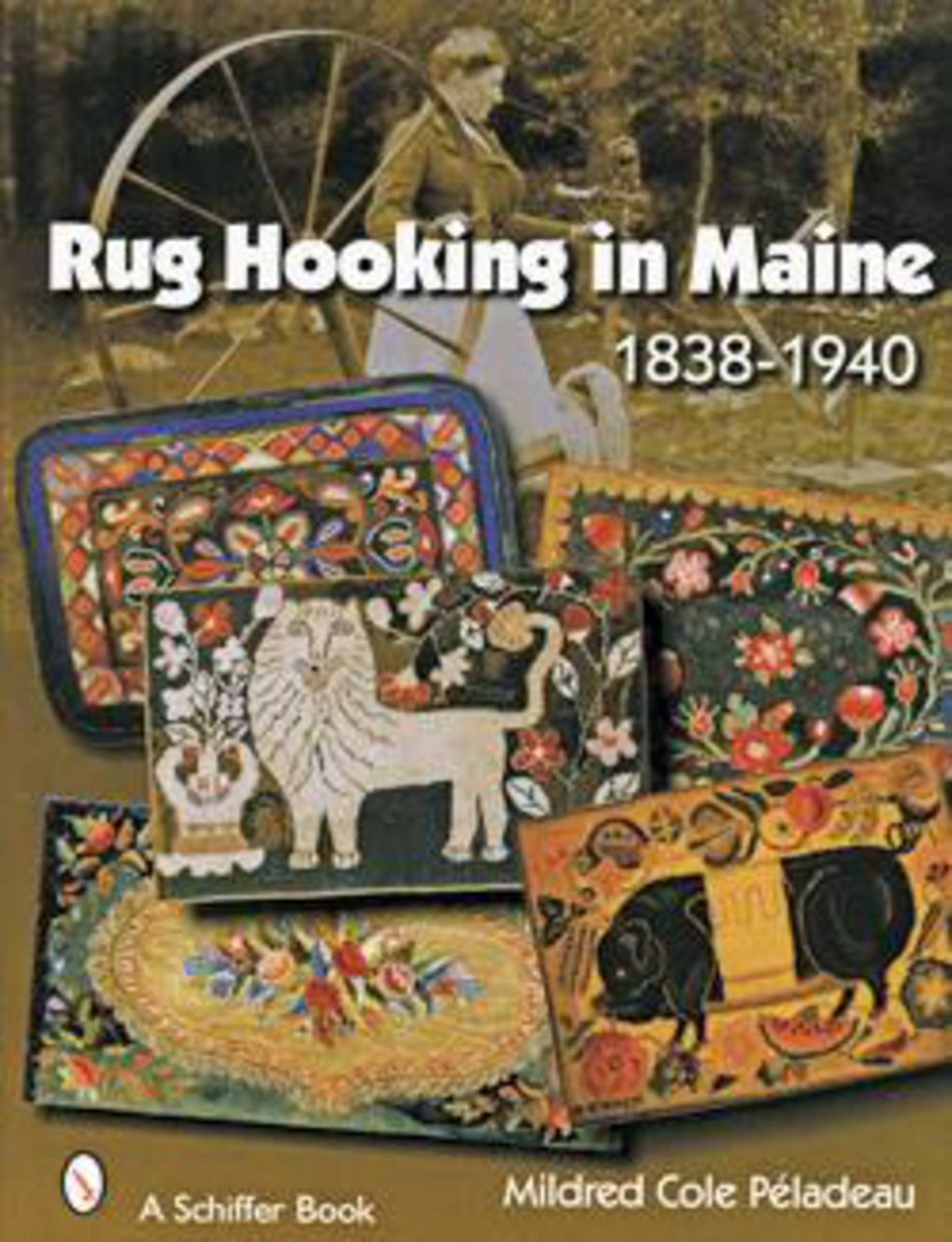 Rug Making Books Rug Hooking in Maine 18381940