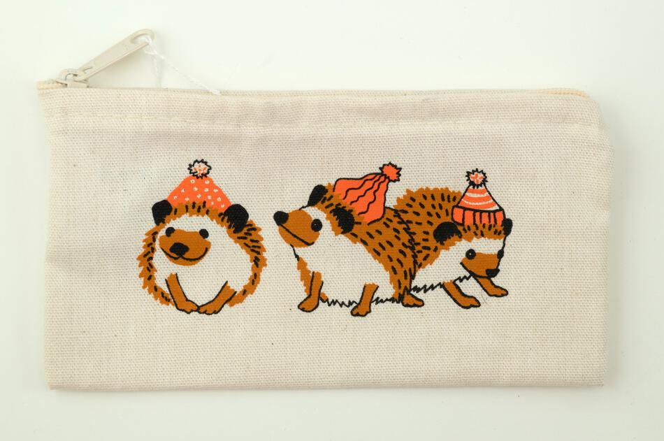 MultiCraft Equipment Wee Hedgehog Zip Pouch by Mum n Sun Ink