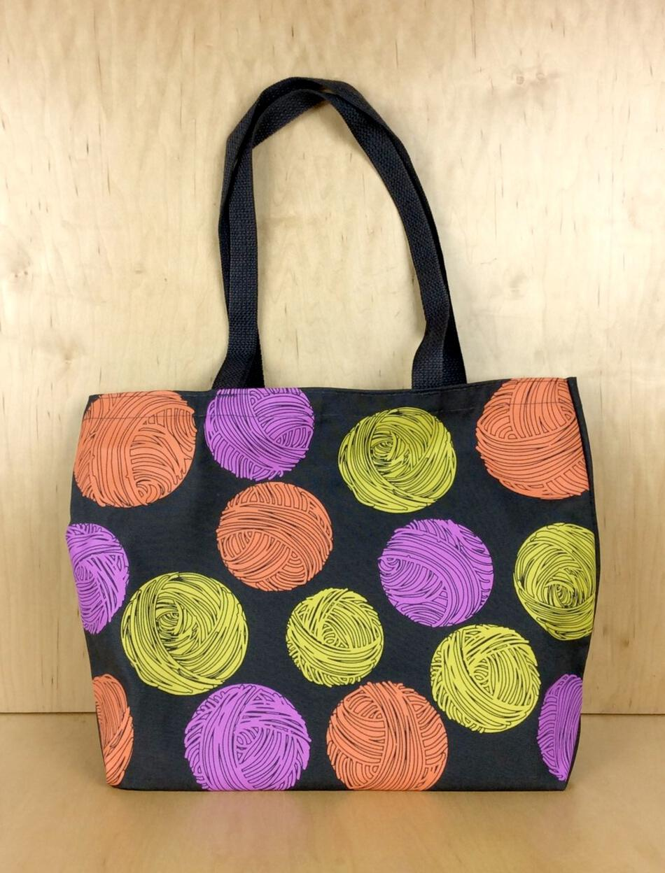 MultiCraft Equipment Polka Dot Yarn Tote