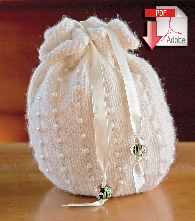 Yarn Bag Pattern : Patterns Halcyon Yarn Beaded Bag Pattern - Jagger 3/8 Wool - Pattern ...