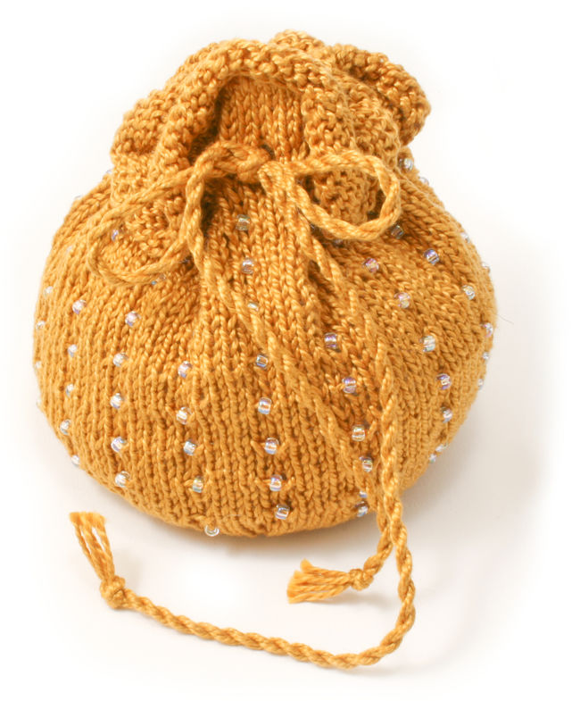 Autumn  Beaded Bag Kit - Gold