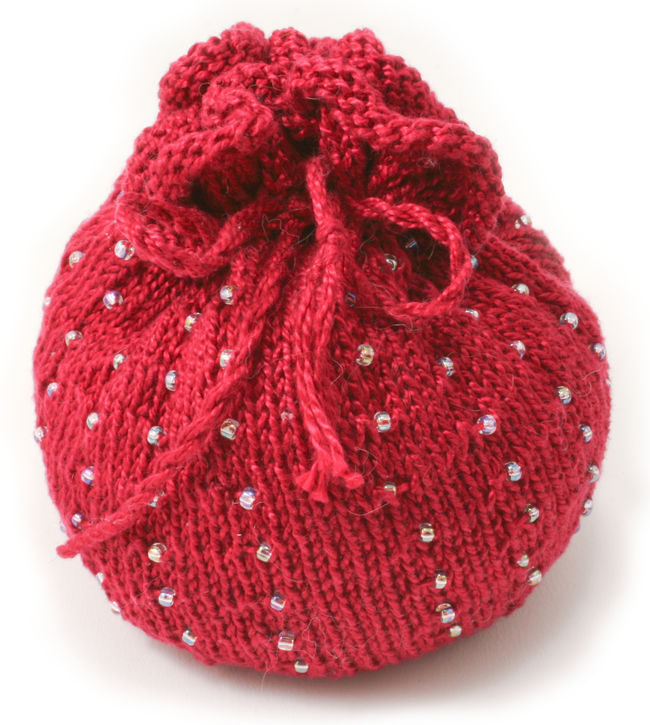Autumn  Beaded Bag Kit - Pomegranate