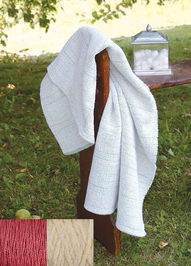 Casco Bay Chenille Bath Sheet Kit (Desert Coral)