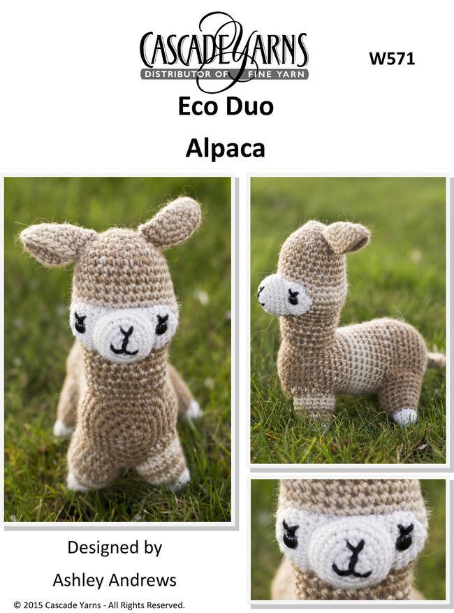 Cascade Eco Duo Alpaca - Crochet Pattern