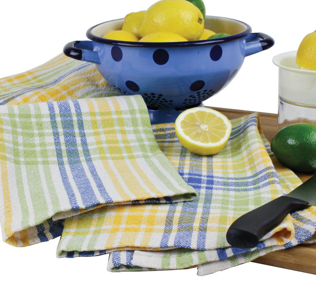 Camp and Cottage Towel Kit for 4-shaft and Rigid Heddle looms - Citrus