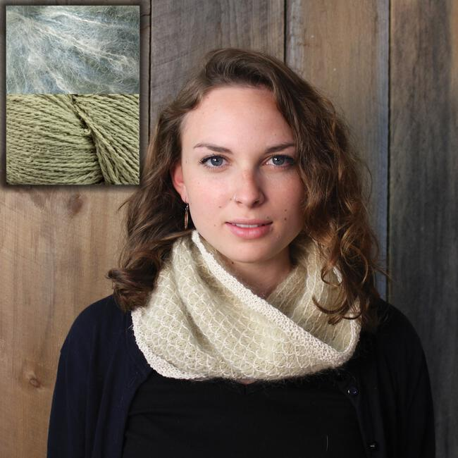 Royal Stitch Cowl Kit - Green