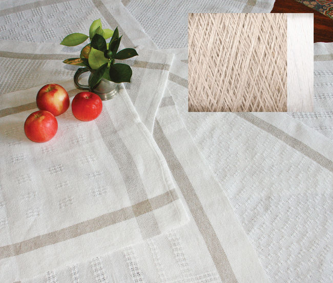 Classic Linen Towels Kit - Natural and White