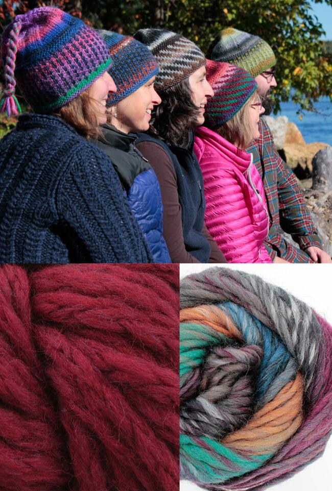Alpine Topper Hat Kit - multi w/burgandy