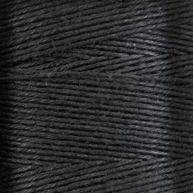 165 Black Linen Rug Lacing