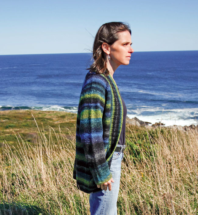 Knitting Pure And Simple Pattern Errata : Top Down Shawl Collar Cardigan by Knitting Pure and Simple ...