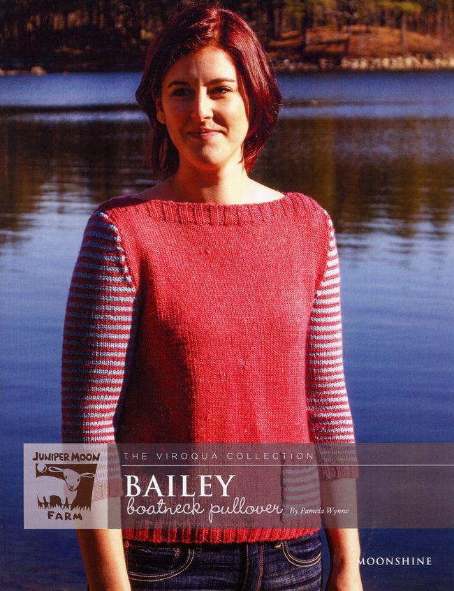 Bailey Boatneck Pullover