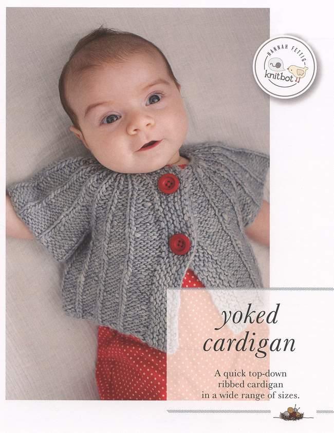 Knitbot Yoked Cardigan