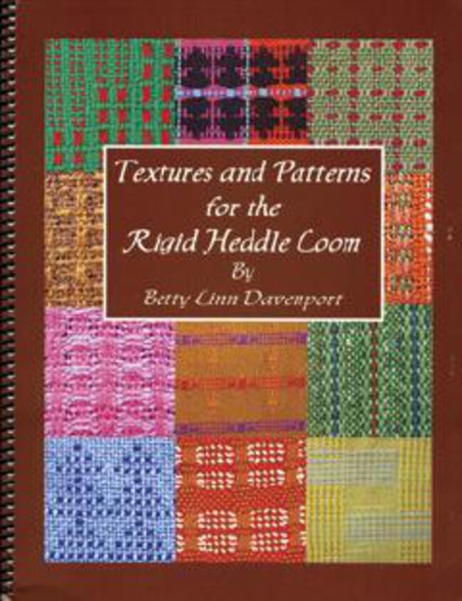 Textures And Patterns For The Rigid Heddle Loom Weaving