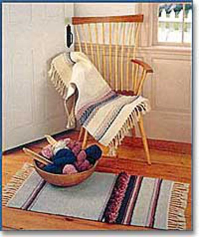 Kennebec Woven Rug Pattern - Halcyon Classic Rug Wool