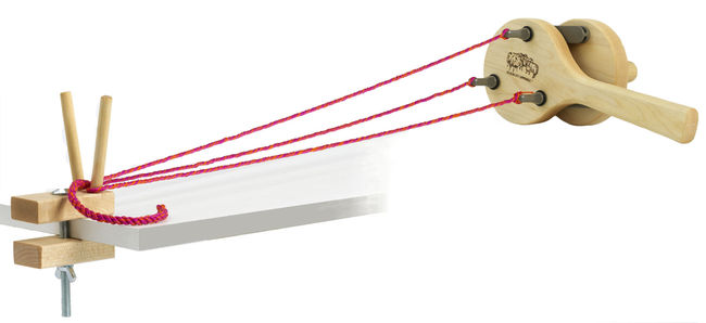 Schacht Incredible Rope Machine and Yarn Twister