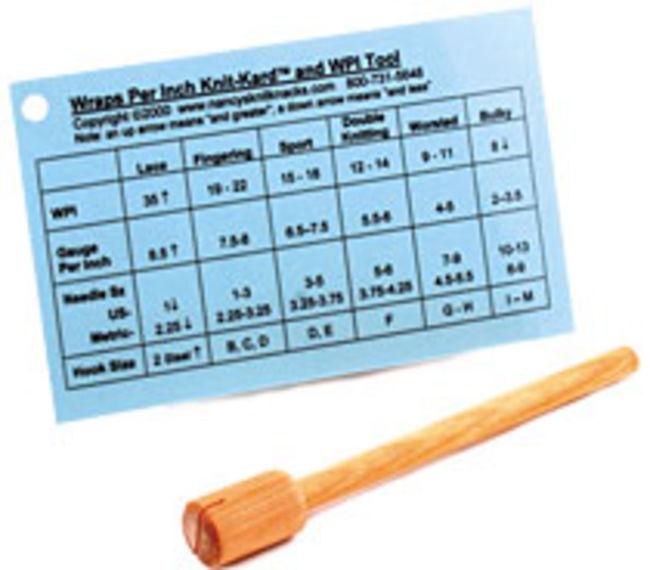 Wraps per Inch Tool