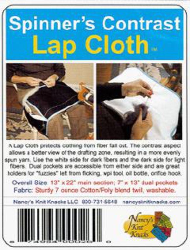 Spinner's Contrast Lap Cloth